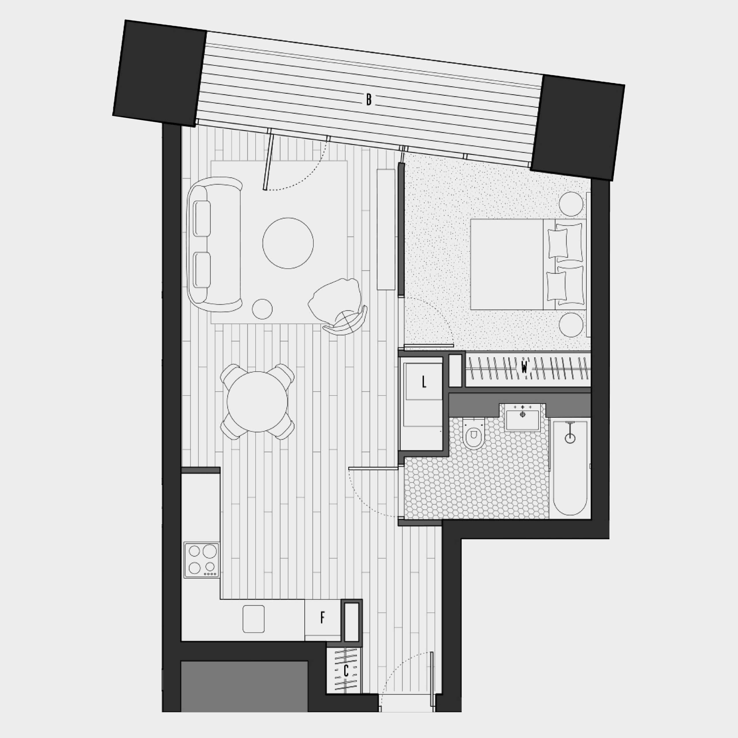 Two Bedroom Apartments London: Apartment Floorplans - Two Bed, One Bed, Suite
