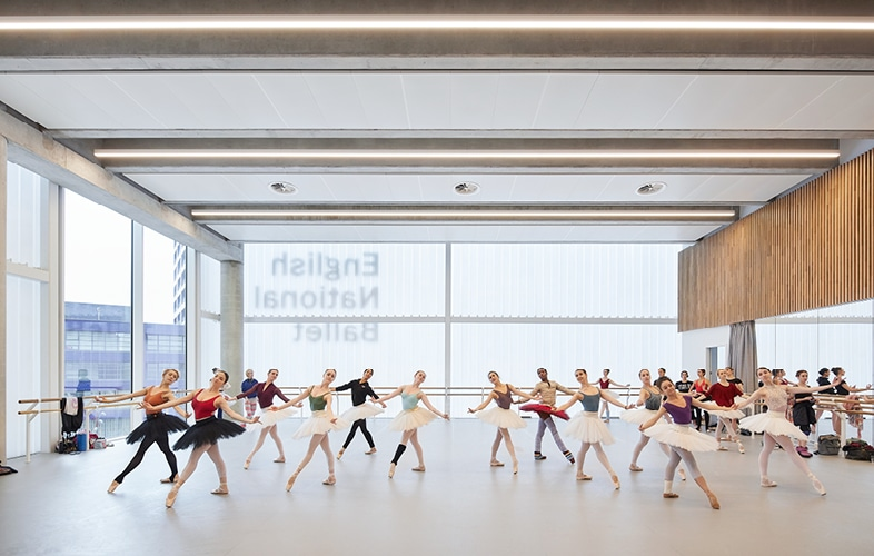 English National Ballet's new home on London City Island